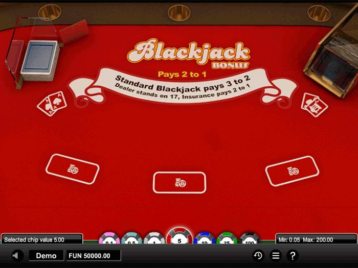tragamonedas blackjack bonus iframe