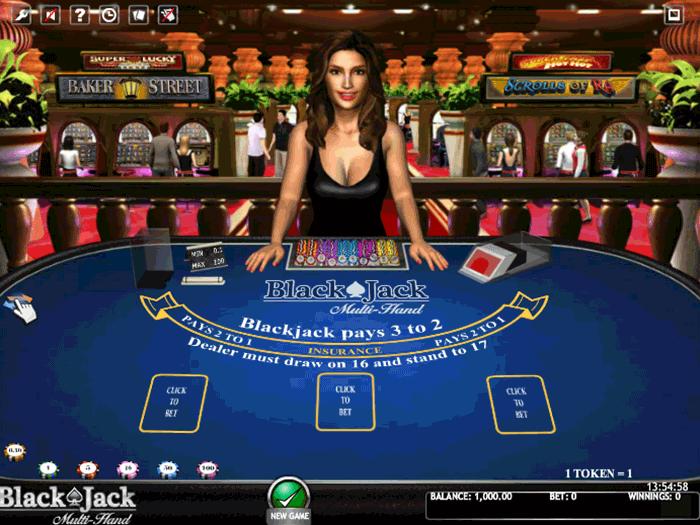 tragamonedas blackjack multi hand 3d iframe