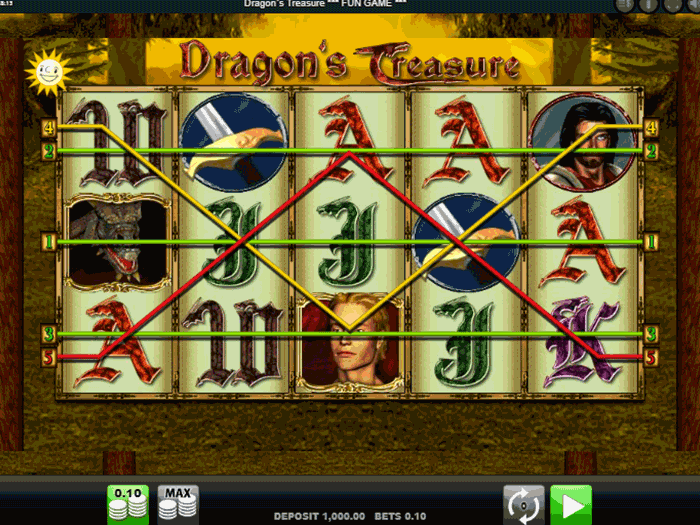 tragamonedas dragons treasure iframe