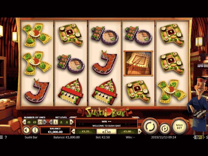 tragamonedas sushi bar iframe
