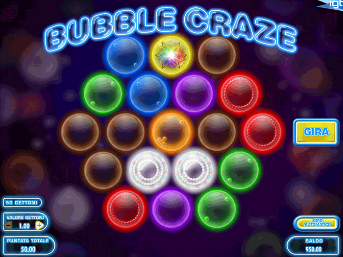 Tragamonedas Bubble Craze iframe