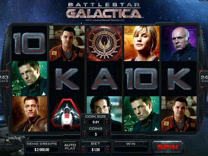 battlestar galactica iframe