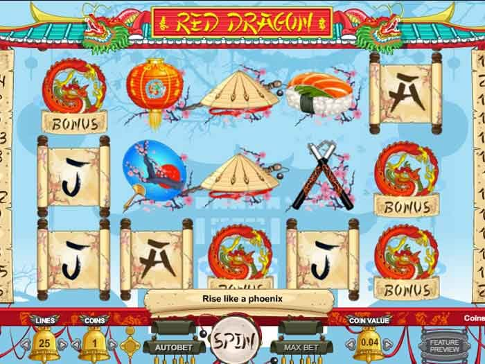Tragamonedas Red Dragon iframe