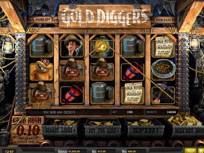 tragamonedas gold diggers iframe